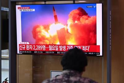 Corea del Norte probablemente disparó su primer misil submarino desde 2019