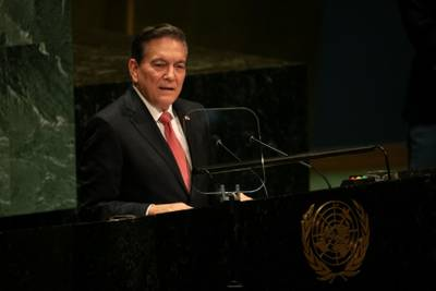 Cortizo pide en ONU ayuda internacional para evitar crisis migratoria en Panamá