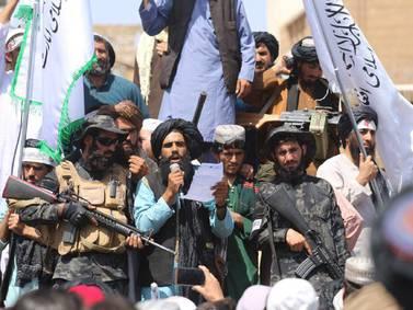 El Talibán anunciará un nuevo gobierno tras salida de EE.UU.