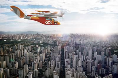 Brasileña Gol encarga 250 taxis voladores de Vertical Aerospace